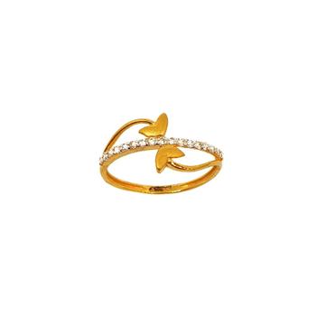 22K Gold Modern Ring MGA - LRG1119