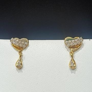 18CT Gold Hallmark Heart Design Tops  by