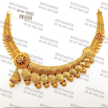 rajasthani har ser necklace geru Designe antique  by