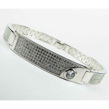 Fancy 925 Silver Micro Gents Bracelet