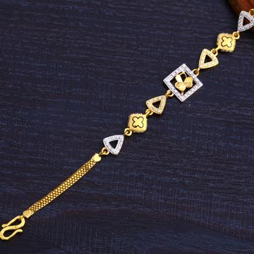 22Kt Gold ladies Designer Bracelet LB256