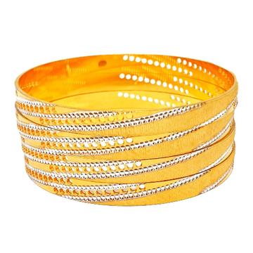1 gram gold forming 4 piece bangles mga - bge0251