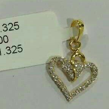 Love Words 22kt Gold Pendent