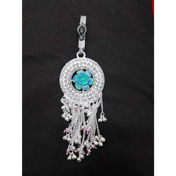 Silver Dazzling Long Juda by MSK Jewel Art Private Limited
