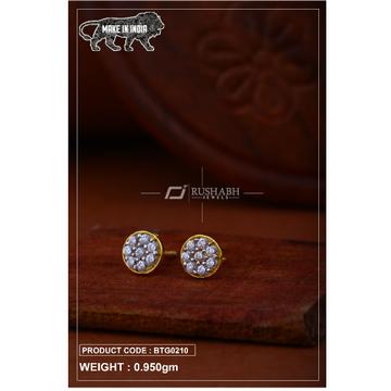 18 carat gold Ladies round tops btg0210 by