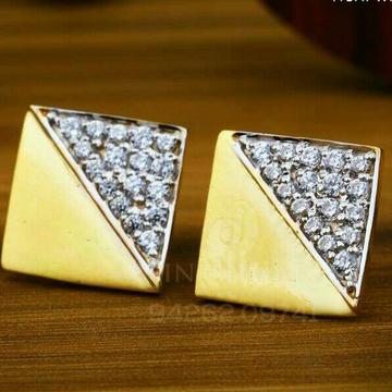 18kt Dazzeld Fancy Cz Gold Ladies Tops ATG -0095