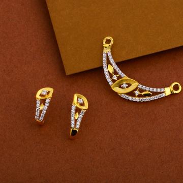 916 Gold  Hallmark  Mangalsutra Pendant MP242