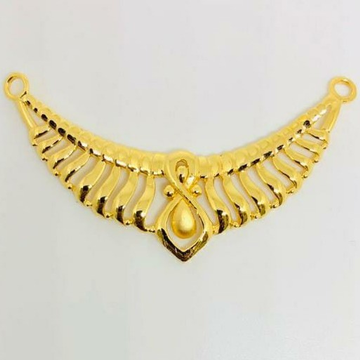 22 kt gold pendant by Aaj Gold Palace