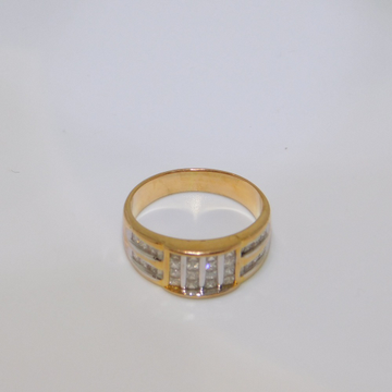 18K gold diamond ring agj-gr-74