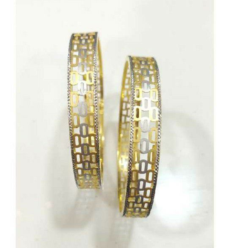 SJ036 Gold Fancy Patla Bangle In Kadli