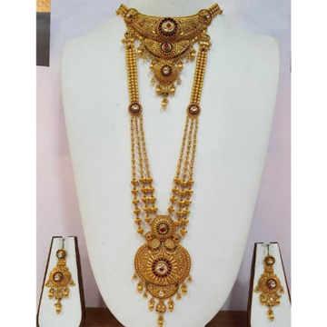 22KT Gold Classic Necklace Set