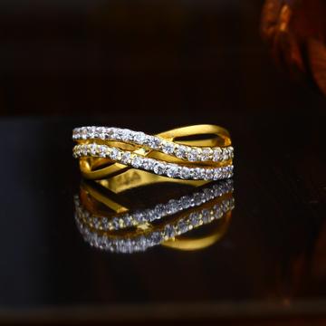 22KT Gold Hallmark Engagement  Ring