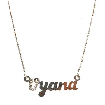 Silver chain pendant mga - CP006