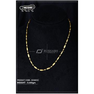 22 Carat 916 Gold Ladies swarovski Moti mala svg0013