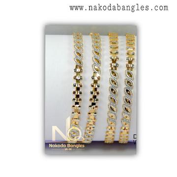916 Gold CNC Bangles NB - 1317