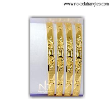 916 Gold Khilla Bangles NB - 1396