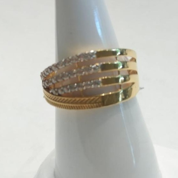 916 CZ Gold Stunning Ring  by