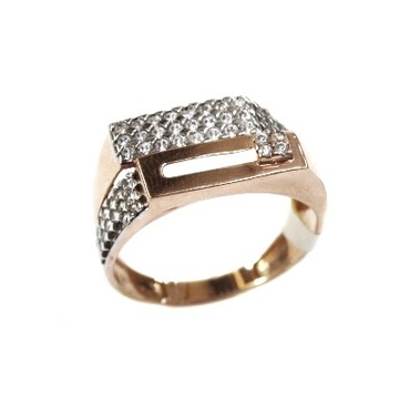 18k rose gold ring mga - rgr007