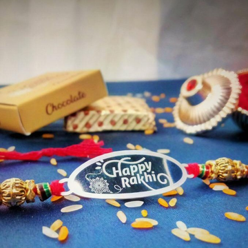 Silver 999 Haapy rakhi RH-R7