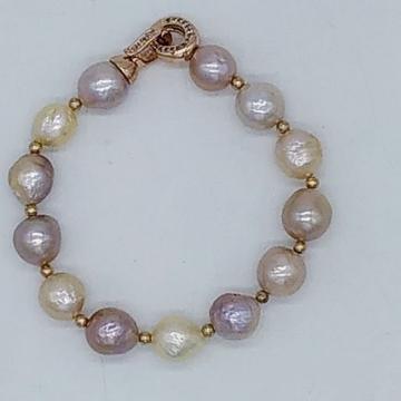 Freshwater Multicolour Pearls Bracelet JBG0315