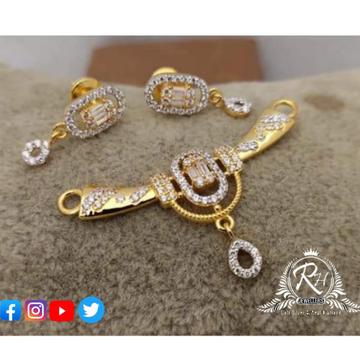 22 carat gold classical mangalsutra RH-MS496
