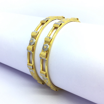 FANCY GOLD BANGLES FOR LADIES