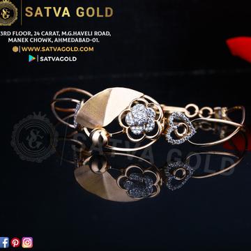 76 ROSE GOLD KADA SGK-0015