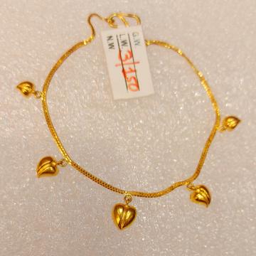 916 ladies hanging bracelet by