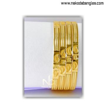 916 Gold Khilla Bangles NB - 1397
