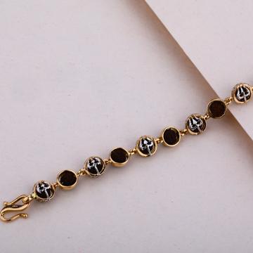Rose Gold 18K Rudraksha Bracelet-MRB12
