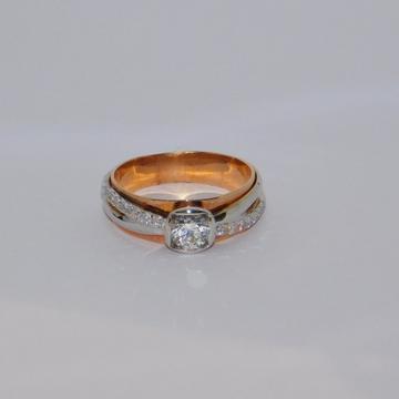 18K gold diamond ring agj-lr-300