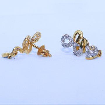 22KT / 916 Gold CZ Fancy Casual Earring for Ladies BTG0072