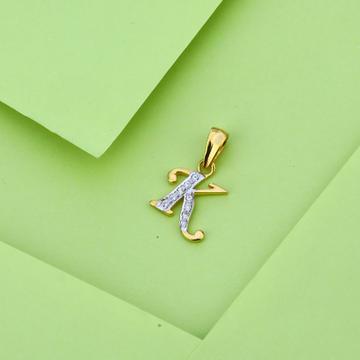 916 Gold Stylish Letter Pendant LP32