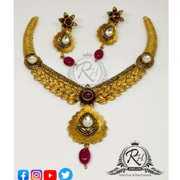 22 carat gold traditional ladies set RH-ST096