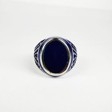 92.5 sterling silver enamel ring ml-119