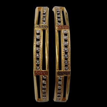 22ct cz copper bangles sg-53 by