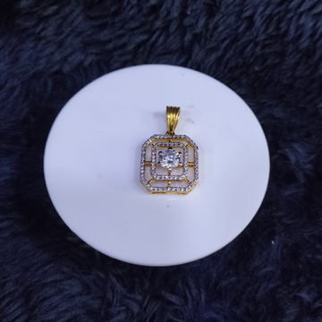 22KT/916 Yellow Gold Fidah Pendant For Unisex
