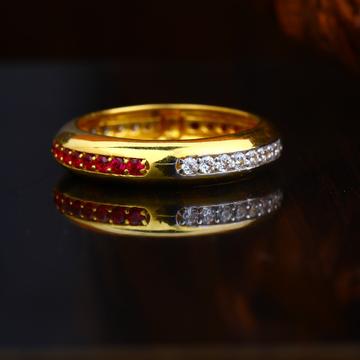 22KT Gold Elegant Design Hallmark Ring