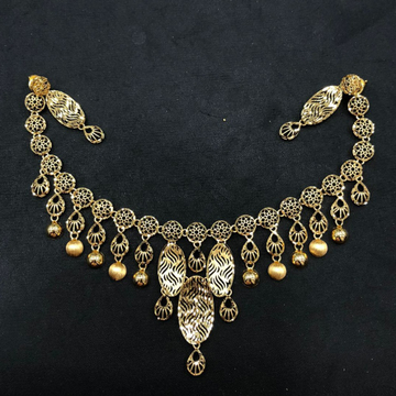 Gold Antique Turkish Necklace by