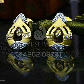 18kt Attractive Fancy Cz Gold Ladies Tops ATG -0214