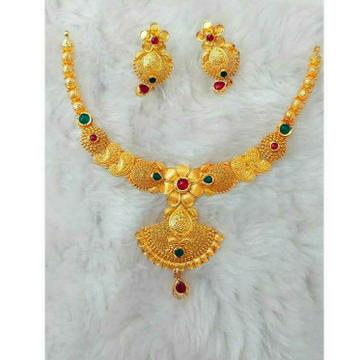 Gold Necklace Set Butii Gadatar by