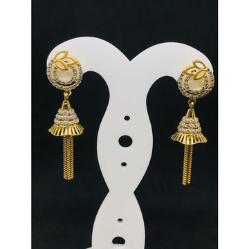 916Ladies Jummar Fancy Gold Earring Er-60051