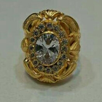 22KT Gold Fancy Gents Rings