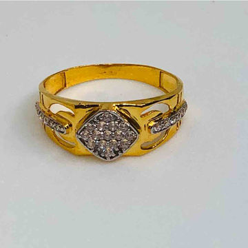18kt exclusive gents ring by Prakash Jewellers