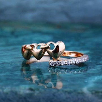 18kt RoseGold  ladies Ring RSR-012