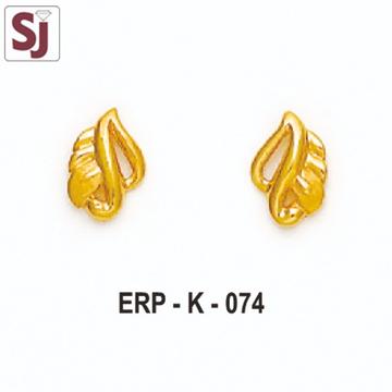 Earring Plain ERP-K-074