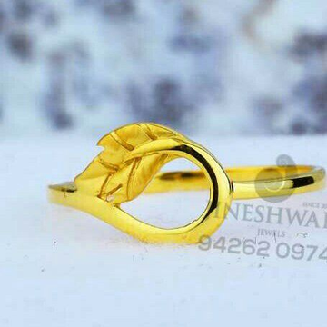 916 Fancy Daily Were Plain Casting Ring LRG -0551