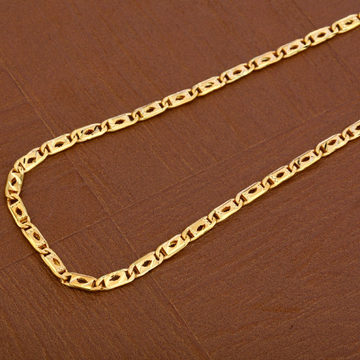 Mens 916 Gold Nawabi Chain-MNC37