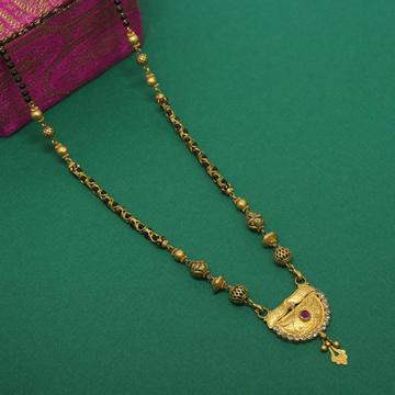 916 Hallmarked Antique Look Mangalsutra by Simandhar Jewellers
