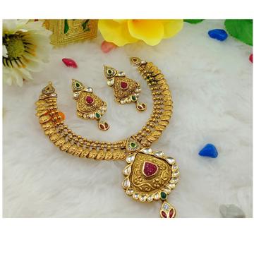 916 gold half round antique set by Ranka Jewellers
